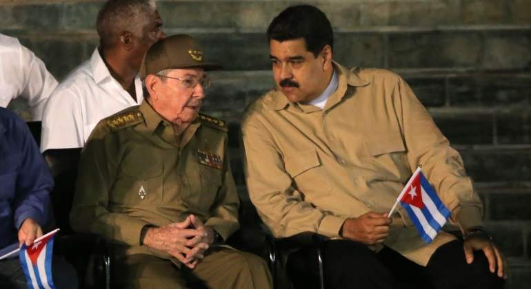 Castro Maduro Cuba Venezuela Reuters 770x420