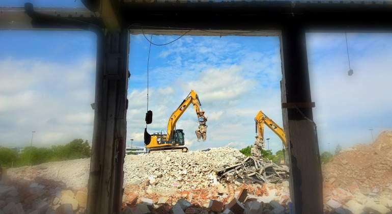 España puede ahorrar hasta 450 millones en escombros