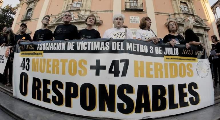 Ordenan reabrir por tercera vez la causa del accidente de metro de Valencia en 2006