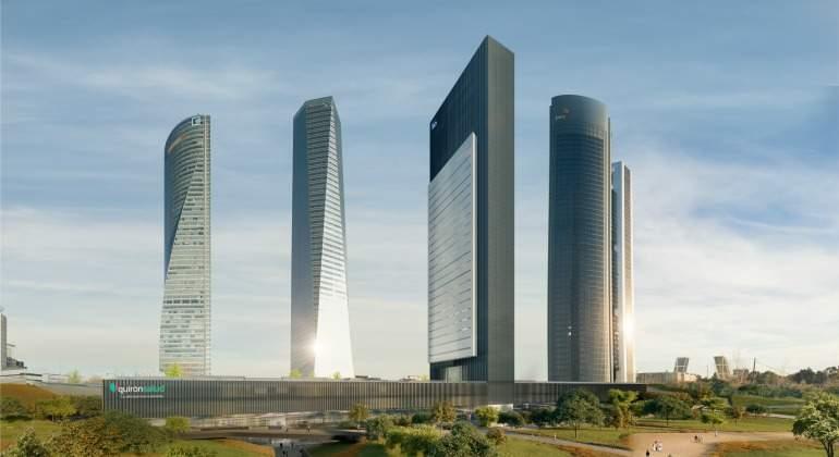 Villar Mir rediseña la Torre Caleido a petición de su socio filipino y Carmena