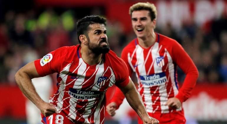 Griezmann y Costa hacen soñar al Atlético