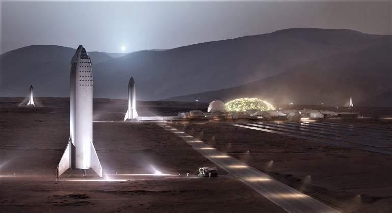 Marte podría tener una base construida para el 2028