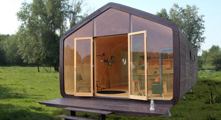 La casa de cartón que revoluciona la arquitectura tradicional