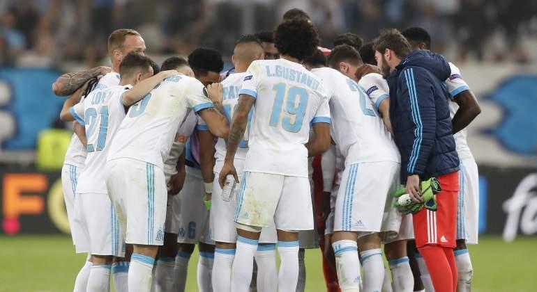 El Marsella derrota al Salzburgo y se acerca a su quinta final