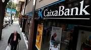 Una sucursal de CaixaBank