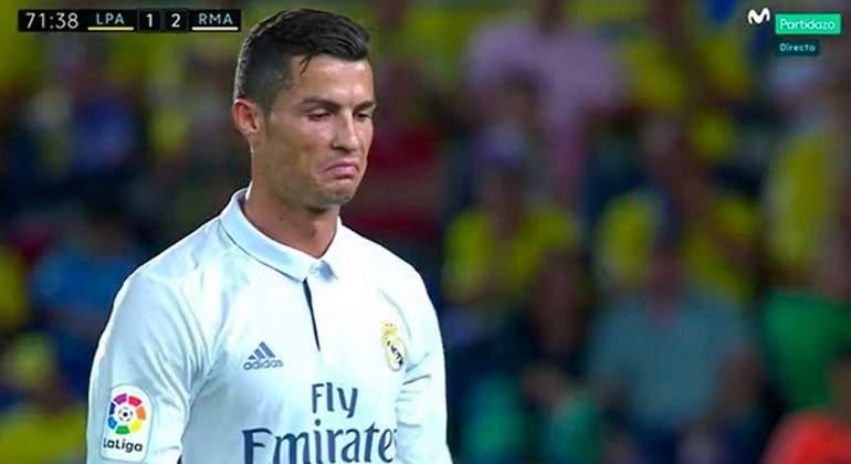 size 40 9e9a1 04151 Cristiano Ronaldo se enfada con Zidane al ser cambiado en Las Palmas
