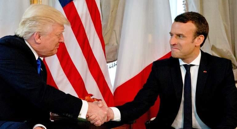 Trump, a Macron: El acuerdo nuclear con Irán es horrible