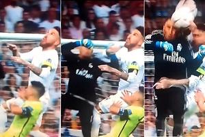 El penalti escondido de Ramos en el 90