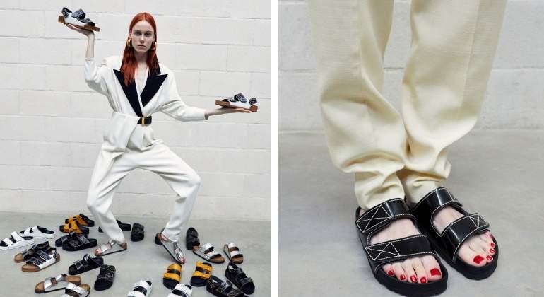 Colaboración de Proenza Schouler para Birkenstock (un ejemplo de éxito de los 'ugly shoes').