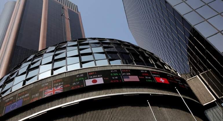 La bolsa de México pierde 0,13 % al inicio de la sesión