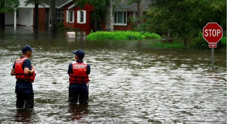 Ascienden a 13 los muertos a causa del paso de 'Florence' por Carolina del Norte