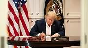 Trump firma la ley que libera un nuevo estímulo de casi 900.000 millones y evita un cierre del gobierno