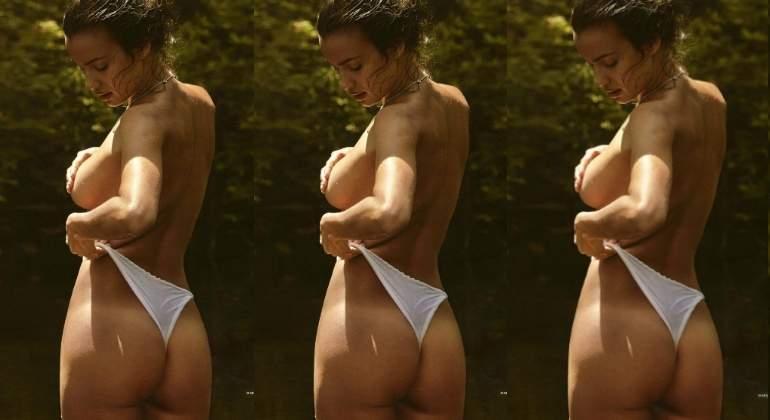 Irina Shayk Toma El Sol Casi Desnuda Informaliaes