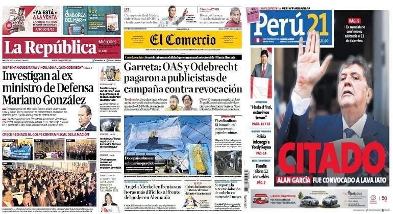 Revelan que Odebrecht y OAS financiaron campaña contra revocatoria de Villarán