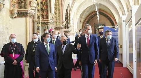 Felipe VI en Burgos