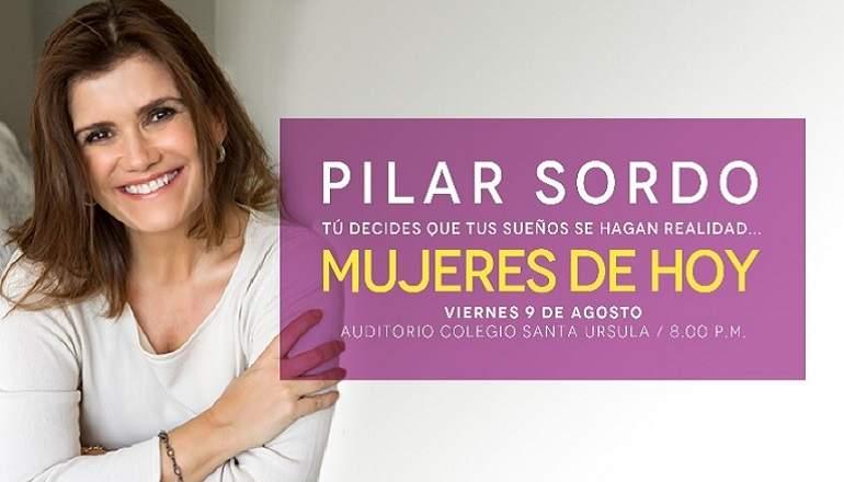 Pilar Sordo En Lima La Famosa Conferencista Presentará