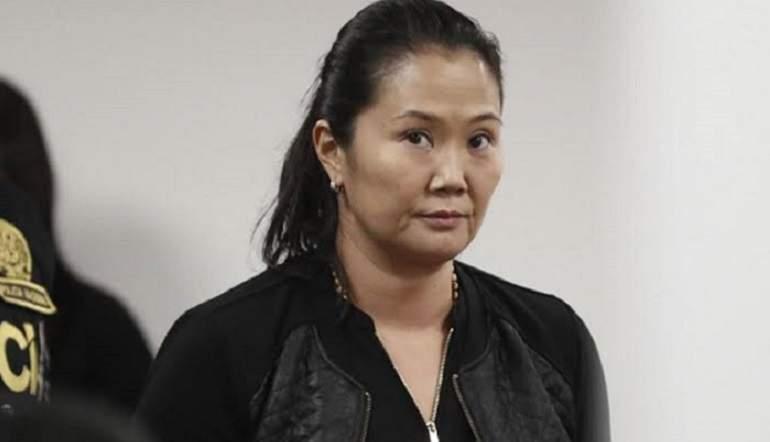 Keiko Fujimori retorna a prisión: PJ dicta 15 meses de prisión preventiva en su contra