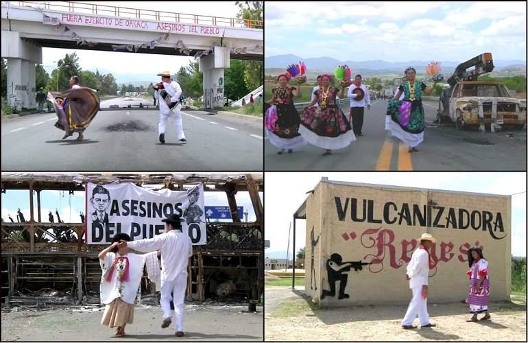 Reactiva CNTE bloqueos en Oaxaca
