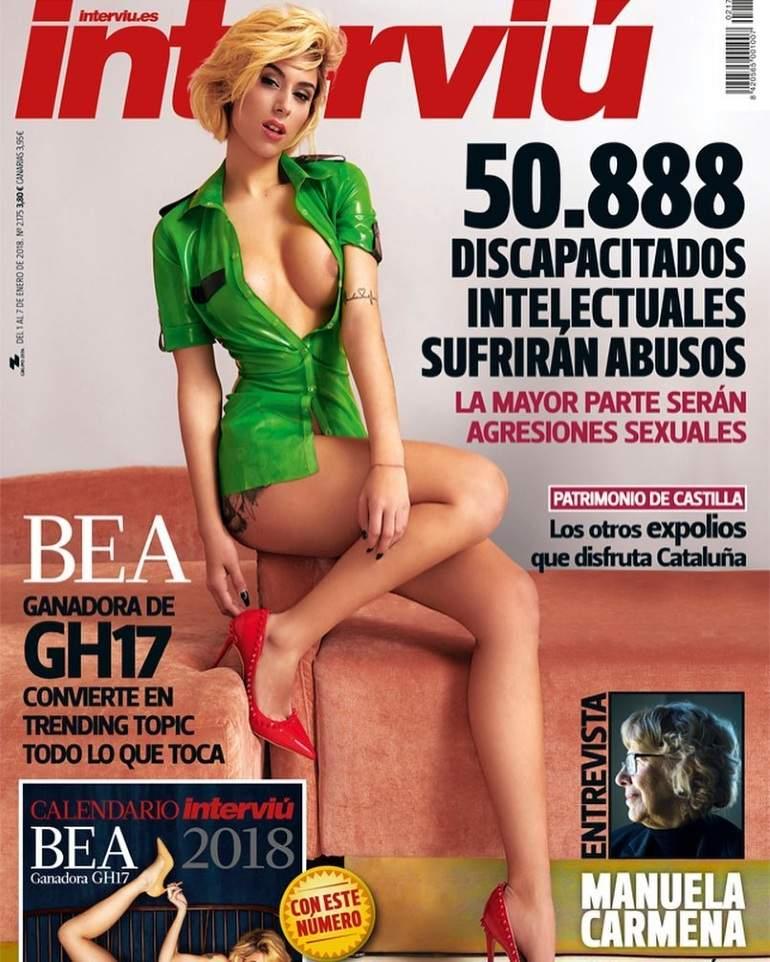 Bea Ganadora De Gh 17 Se Desnuda En Interviú Para El