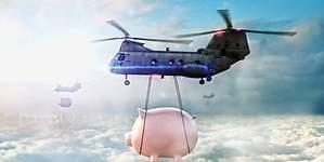 La OCDE no ve el helicóptero del dinero la mejor solución