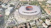 Acciona, FCC, Ferrovial y Sacyr se lanzan a por la reforma del Camp Nou