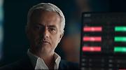 Jos Mourinho en una imagen del vdeo promocional de XTB