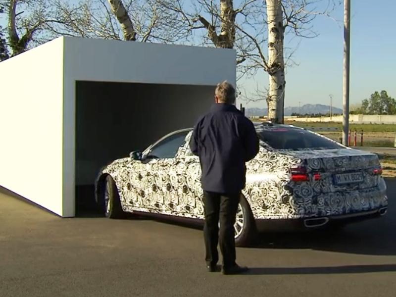 Maniobrar se va a acabar: el BMW Serie 7 aparcará solo en el garaje - 625x250