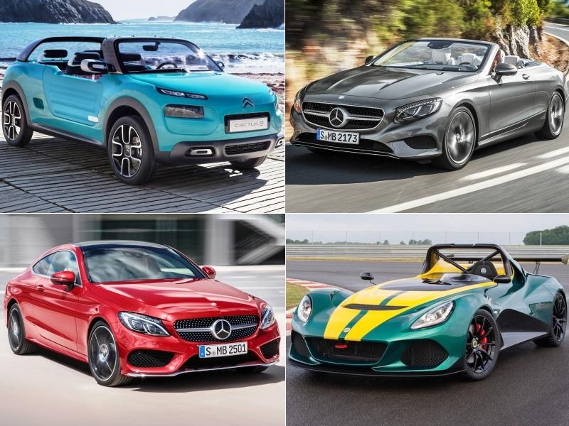 Novedades del Salón de Frankfurt: los coches que vienen para 2016