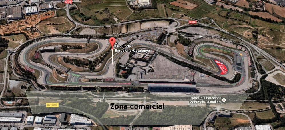 Circuito Montmelo : El govern proyecta un centro comercial mayor que la roca village en