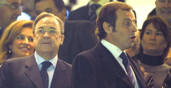 """La llamada enfadada de <b>Florentino Pérez</b>: """"Te dije que no se jugará en el Bernabéu"""""""