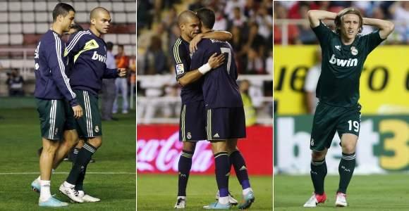 El gafe del verde  el Real Madrid cambió a última hora su camiseta en  Vallecas 9f5a18947a69a