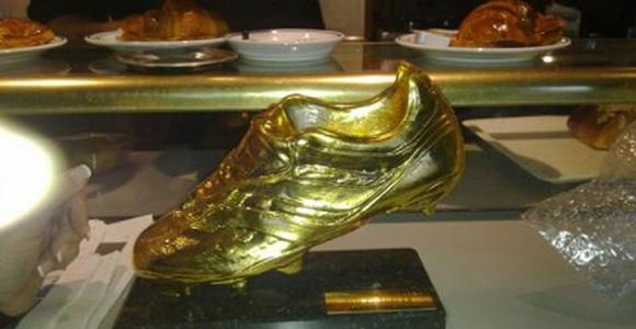 la bota de oro de cristiano estuvo guardada en una bolsa
