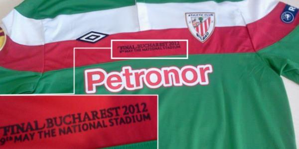 ef78281d2c984 El Athletic jugará con la  camiseta-ikurriña  la final de la Europa League  - EcoDiario.es