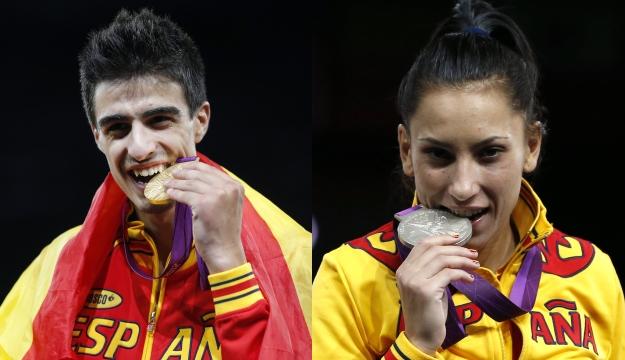 a2a623577fe Joel González se cuelga el oro olímpico y Brigitte Yagüe se consuela con la  plata