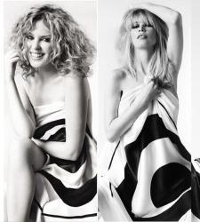 Kylie Minogue Claudia Schiffer Y Sienna Millerdesnudas Contra El