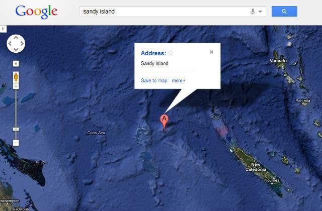Descubren que una isla que aparece en Google Maps realmente ... on google hurricane sandy, google earth sandy, goldman sachs hurricane sandy,