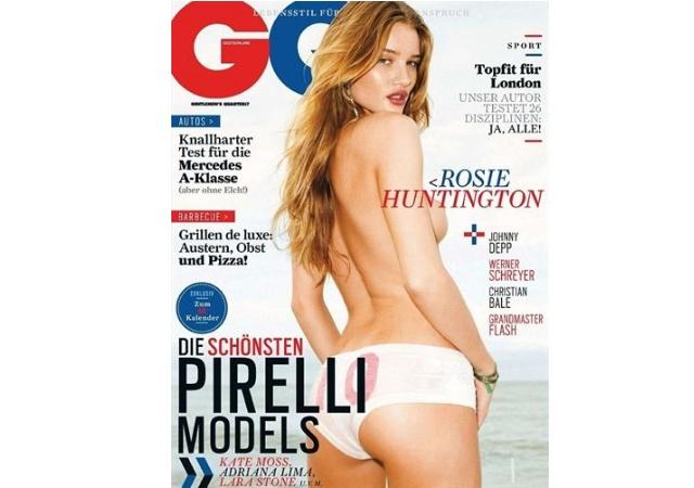 Rosie Huntington Whiteley Se Desnuda Para Gq Eleconomistaes
