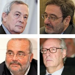Boyer, Solchaga, Navarro, Serra