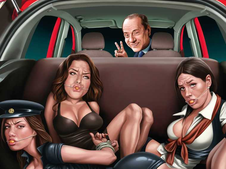 Silvio Berlusconi With A Trunk Full Of Tied-Up Women: Worst Ford Ad Ever? -  elEconomista.es
