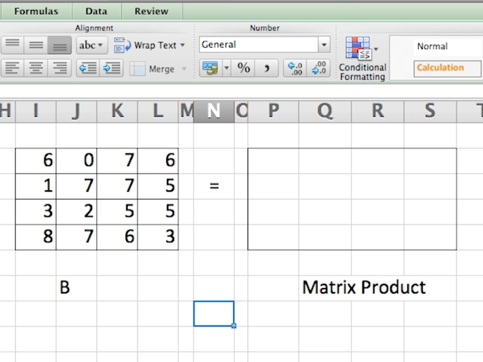 this advanced excel trick allows you to calculate complicated matrix
