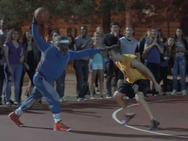 82cd5d5798e3 Kyrie Irving s  Uncle Drew  Is Back For Pepsi Max Again  THE BRIEF ...