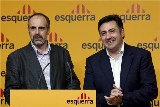 Precampaña de Esquerra Republicana de Catalunya (ERC) 1269009w