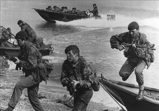 fotos de la guerra de Las Malvinas