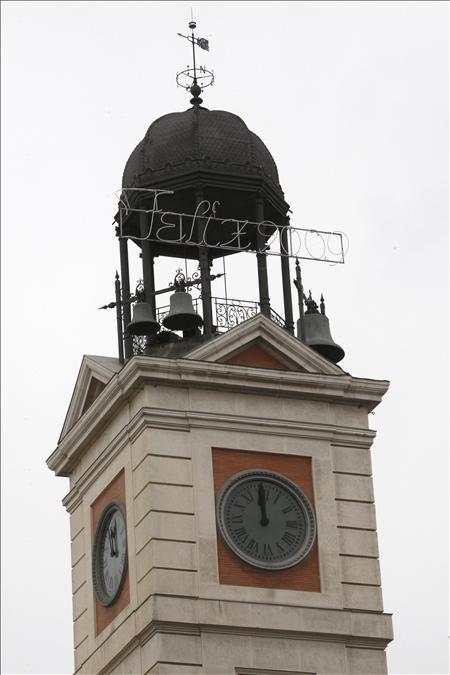 66730dce71d7 Puesto a punto el reloj de la Puerta del Sol para las campanadas -  EcoDiario.es