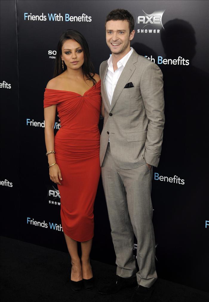 Justin Timberlake y Mila Kunis promocionan Amigos con