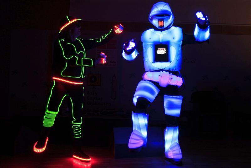 Robots, música electrónica y artes plásticas, protagonistas de ...