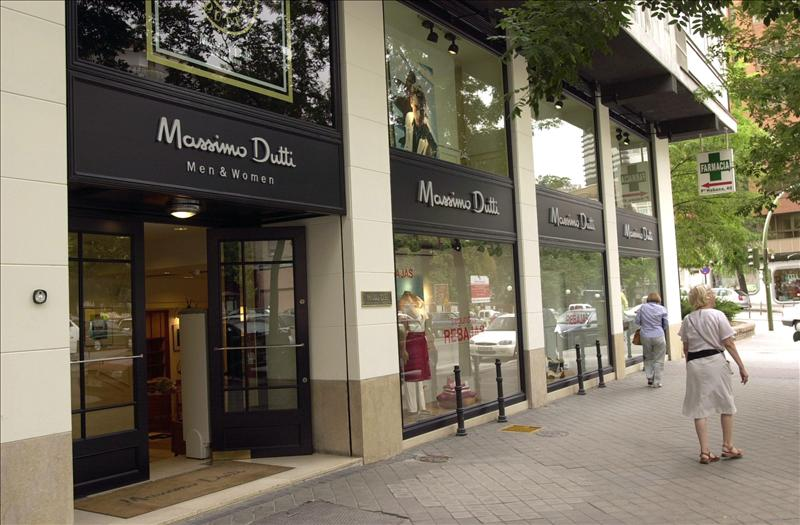 inditex abre en madrid una tienda emblem tica de massimo dutti en serrano. Black Bedroom Furniture Sets. Home Design Ideas