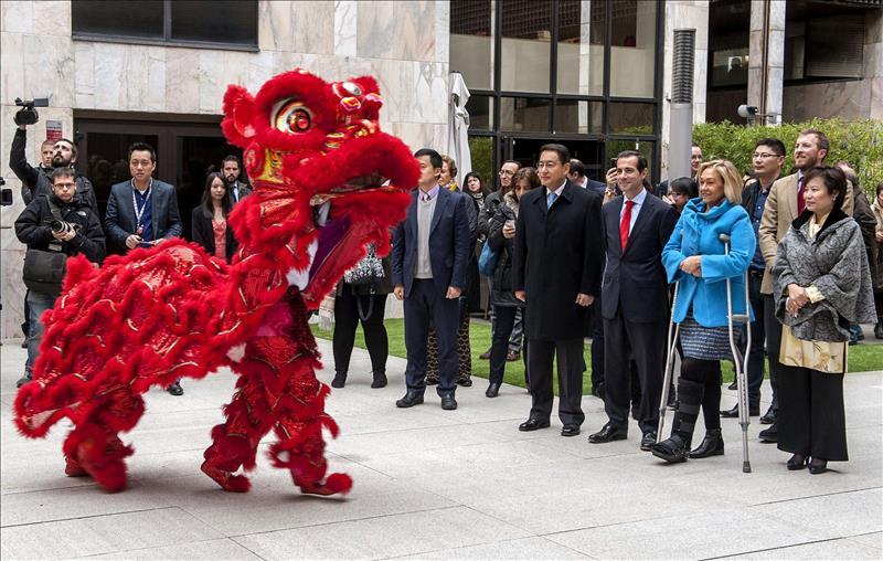 Un concierto da la bienvenida al a o nuevo chino hoy en for Conciertos madrid hoy