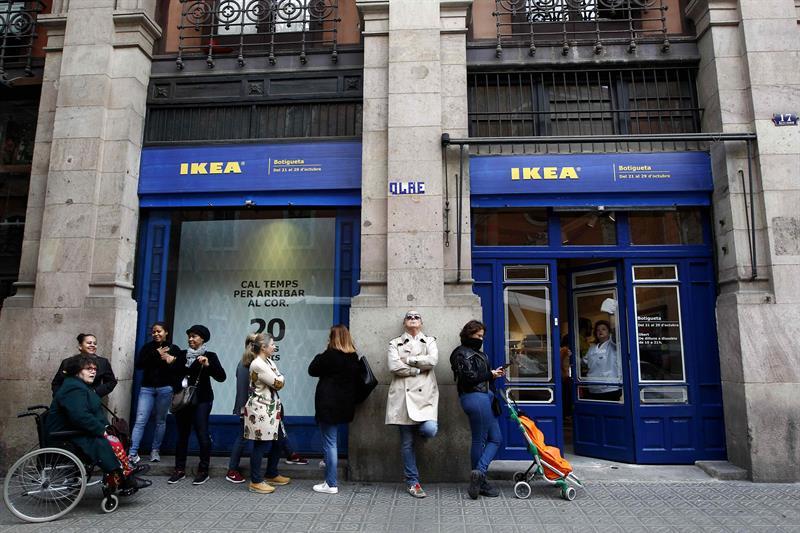 Ikea abre tiendas efímeras en centro de Madrid y Barcelona
