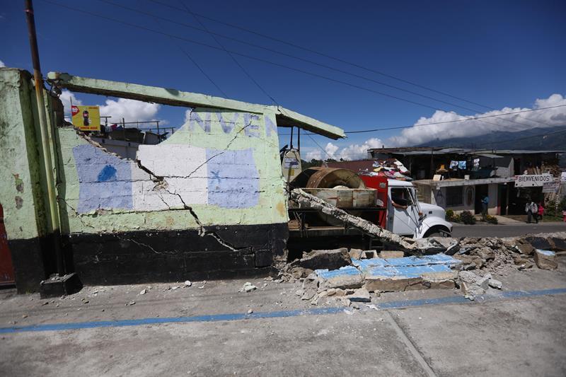 Siete Replicas En Guatemala Tras El Terremoto Originado En Mexico Eleconomistaamerica Com